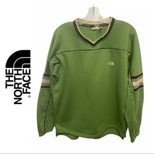 The North Face Green Fleece Sweater